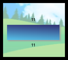 rectangle with a length of 11