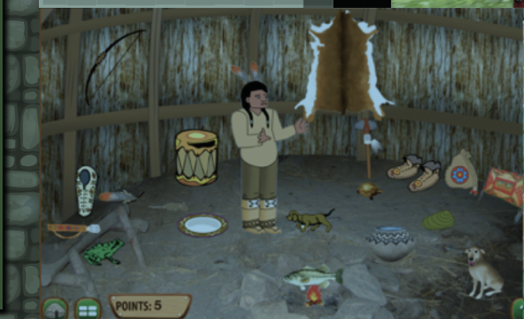 Wigwam from Making Camp Premium with items purchased with points